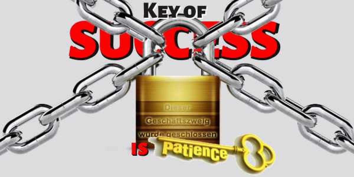 "The Key to Success ~ ""Our Own Patience"""